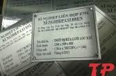 Xưởng sản xuất Name plate – Name tags inox – Tem nhãn mác kim loại giá rẻ