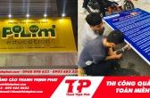 Thi công bảng hiệu quảng cáo đẹp giá rẻ TPHCM